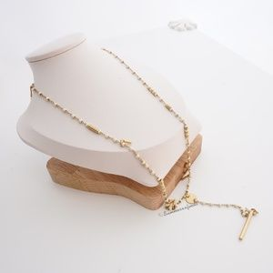 Madewell Beaded Lariat Necklace